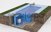 бассейны,  КНС,  очистные сооружения,  емкости,  детские игровые комплексы