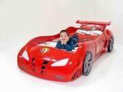 Детская кровать в виде машины (Турция)