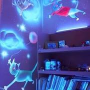 Неоновая Люминесцентная краска –эмаль