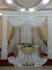 Оформление официальных мероприятий,  свадеб,  торжеств,  юбилеев.