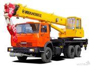 автокран 25 тон по гор и регионам