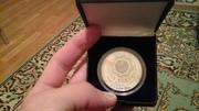 Продам Серебрянную монету номиналом 500 тенге