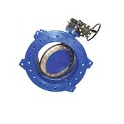 Затвор дисковый поворотный фланцевый с эксцентриситетом 023F