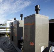 Газовые абсорбционные чиллеры наружной установки.